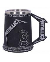 Metallica pivný pohár The Black Album 15 cm