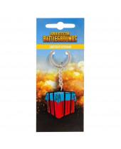 Playerunknowns Battlegrounds Metal Keychain Loot Crate 4 cm