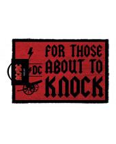AC/DC rohožka For Those About To Knock 40 x 57 cm