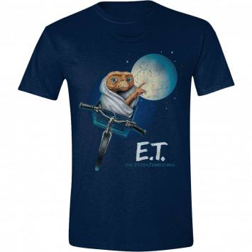 E.T. the Extra-Terrestrial Moon Bicycle (T-Shirt)