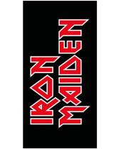 Iron Maiden osuška Logo 150 x 75 cm