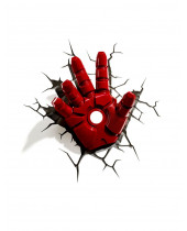 Avengers 3D LED lampa Iron Man Hand