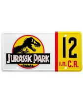 Jurassic Park replika Dennis Nedry Licence Plate