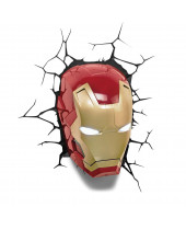 Marvel 3D LED lampa Iron Man