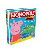 Monopoly stolová hra Junior Peppa Pig (English Version)