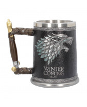 Game of Thrones pivný pohár Winter is Coming