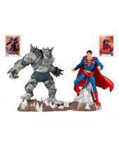 DC Multiverse akčná figúrka Collector Multipack Superman vs Devastator 18 cm