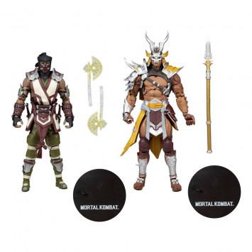 Mortal Kombat akčné figúrky 2-Pack Sub-Zero and Shao Khan 18 cm