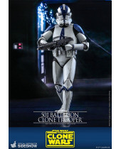 Star Wars The Clone Wars akčná figúrka 1/6 501st Battalion Clone Trooper 30 cm