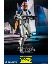 Star Wars The Clone Wars akčná figúrka 1/6 501st Battalion Clone Trooper Deluxe 30 cm