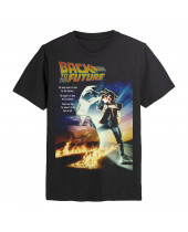 Back To The Future - Poster (T-Shirt)