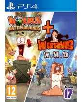 Worms Battlegrounds + Worms W.M.D (PS4)