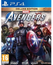Marvel Avengers CZ (Deluxe Edition) (PS4)