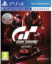 Gran Turismo Sport CZ/PL (PS4)