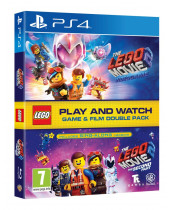 LEGO Movie Videogame 2 (Game and Film Double Pack) (PS4)