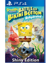 Spongebob Squarepants - Battle for Bikini Bottom Rehydrated (Shiny Edition) (PS4)