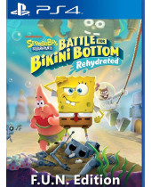 Spongebob Squarepants - Battle for Bikini Bottom Rehydrated (F.U.N. Edition) (PS4)