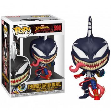 Pop! Spider-Man Maximum Venom - Venomized Captain Marvel (Bobble-Head)