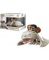 Pop! Movies - Harry Potter - Harry, Hermione and Ron Riding Gringotts Dragon (4-Pack)