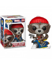 Pop! Marvel - Rocket (Holiday)