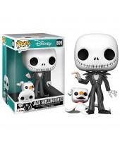 Pop! Disney - The Nightmare Before Christmas - Jack Skellington with Zero (Super Sized, 25cm)
