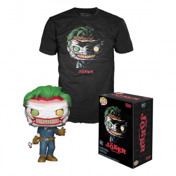 Pop! DC Comics - Death of Joker Tee Box