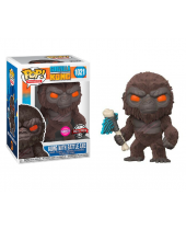 Pop! Movies - Godzilla Vs Kong - Kong with Battle Axe (Special Edition, Flocked)