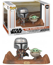 Pop! Star Wars - The Mandalorian - Mandalorian and Child (2-Pack)