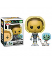 Pop! Animation - Rick and Morty - Space Suit Morty with Snake