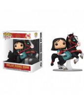 Pop! Disney - Mulan - Mulan Riding Khan (Super Sized, 18cm)