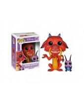 Pop! Disney - Mulan - Mushu and Cricket