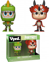 Fortnite VYNL - Vinyl Figures 2 pack Rex and Tricera Ops 10 cm