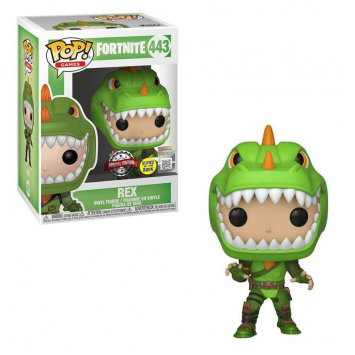 Pop! Games - Fortnite - Rex (Glow in the Dark, Special Edition)