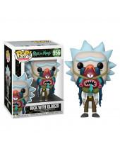 Pop! Animation - Rick and Morty - Rick with Glorzo