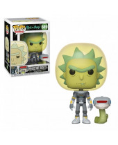 Pop! Animation - Rick and Morty - Space Suit Rick with Snake