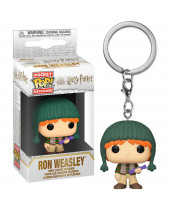 Pop! Pocket Keychain - Harry Potter - Ron Weasley (Holiday)