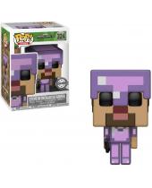 Pop! Games - Minecraft - Steve in Enchanted Armor (Exclusive)