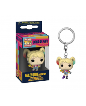 Pop! Pocket Keychain - Birds of Prey - Harley Quinn (Caution Tape)