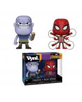 Avengers Infinity War VYNL - Vinyl Figures 2 pack Thanos and Iron Spider 10 cm - Poškodený produkt