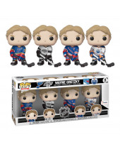 Pop! NHL - Wayne Gretzky (4-Pack, Fanatics Exclusive)