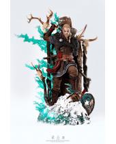 Assassins Creed Valhalla socha 1/4 Animus Eivor 64 cm