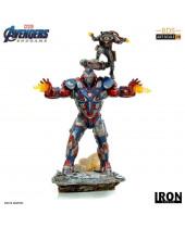 Avengers Endgame BDS Art Scale socha 1/10 Iron Patriot and Rocket 28 cm