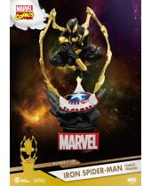 Marvel D-Stage PVC Diorama Iron Spider-Man Comic Version 16 cm