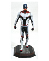 Avengers Endgame Marvel Movie Gallery PVC socha Team Suit Captain America Exclusive 23 cm