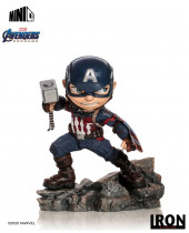 Avengers Endgame Mini Co. PVC socha Captain America 15 cm