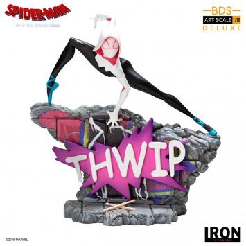 Spider-Man - Into the Spider-Verse BDS Art Scale Deluxe socha 1/10 Gwen Stacey 17 cm