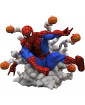DC Gallery PVC socha Spider-Man (Pumpkin Bombs) 23 cm