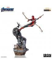 Avengers Endgame BDS Art Scale socha 1/10 Iron Spider vs Outrider 36 cm
