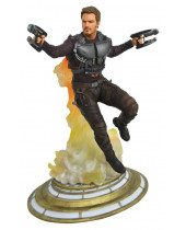 Guardians of the Galaxy Vol. 2 Marvel Movie Gallery PVC socha Maskless Star-Lord 28 cm