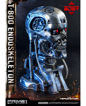 Terminator High Definition busta 1/2 T-800 Endoskeleton Head 22 cm